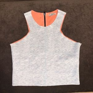 ZARA Trafaluc Crop Tank Top